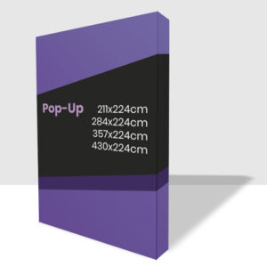 Estructura de Photocall PopUp con laterales impresos